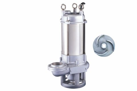 GPQ Type 7.5HP Cast Stainless Grinder Pump