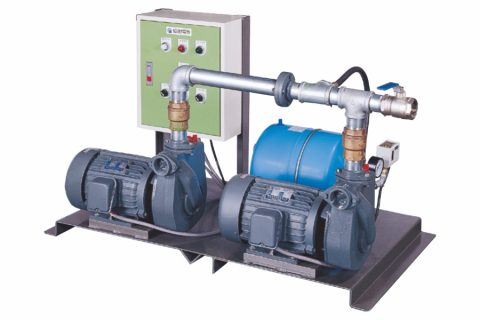 DPA (2HP, 3HP), Alternate Operating Type Automatic Booster System