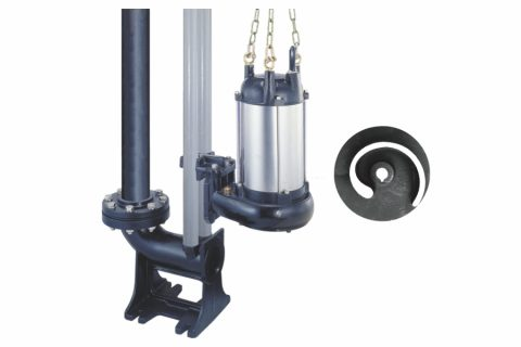STO-T Type Auto-Setter Sewage Non-Clog Pump